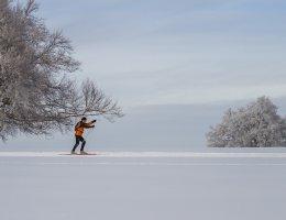 LaRébenne - Hiver - Ski de Fond