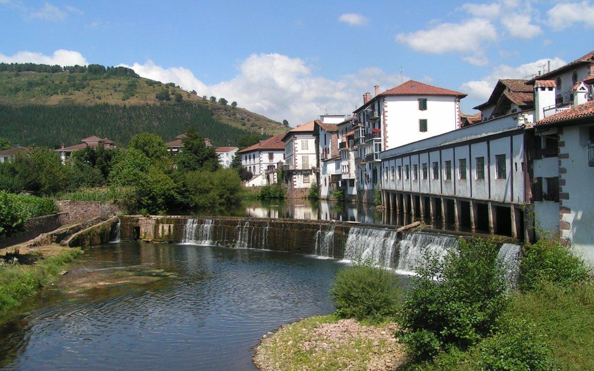 Gr10 pays basque d hendaye saint jean pied de port la r benne - Sud ouest saint jean pied de port ...