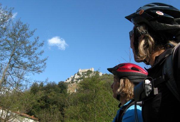LaRébenne - L'intégrale du Sentier Cathare en VTT