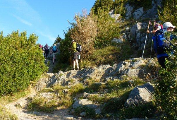 LaRébenne - Randonnée - le Sentier Cathare