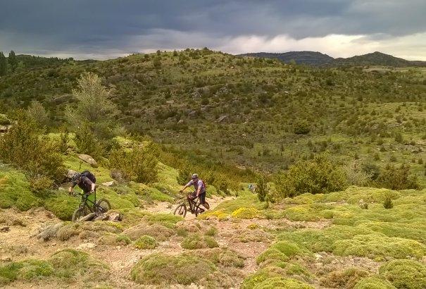 LaRébenne - VTT - La Sierra de Guara (Espagne)