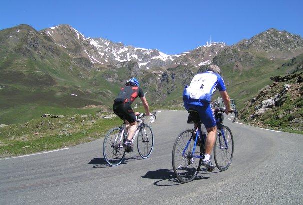 LaRébenne - Vélo - La Traversée des Pyrénées - Montée au Tourmalet