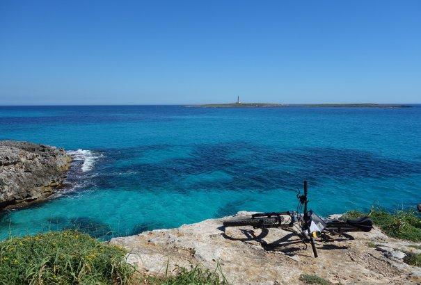 """LaRébenne - VTC - l'Île de Minorque en vélo """"tout tranquille"""""""
