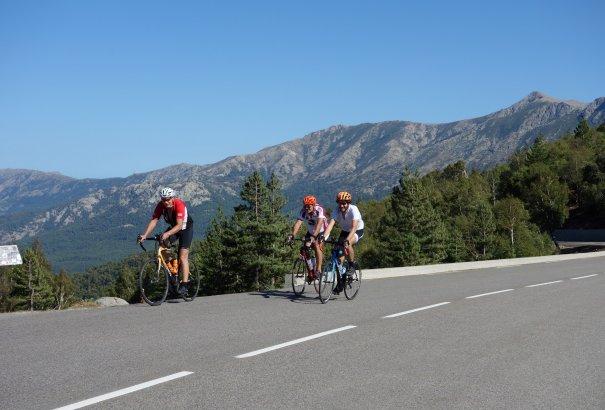 LaRébenne - Vélo - Le tour de la Haute-Corse