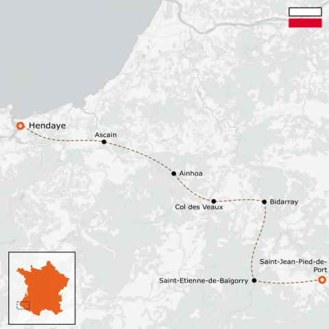 LaRébenne - GR10 - D'Hendaye à Saint-Jean-Pied-de-Port - Partie 1