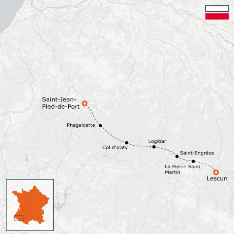 LaRébenne - GR10 - De Saint-Jean-Pied-de-Port à Lescun- Partie 2