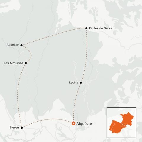 LaRébenne - Randonnée - Tour de la Sierra de Guara