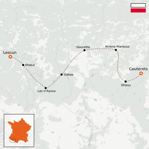 LaRébenne - GR10 - De Lescun à Cauterets - Partie 3