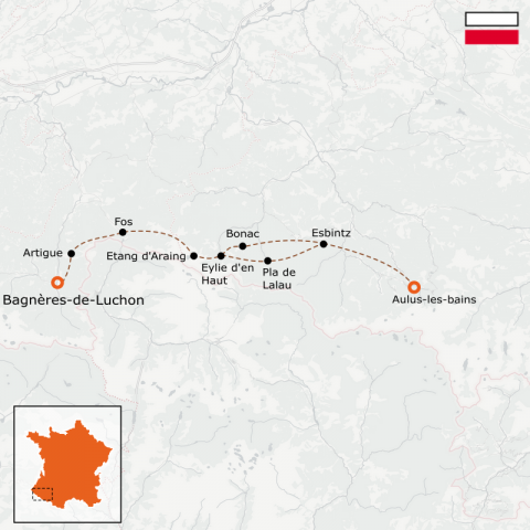 LaRébenne - GR10 - De Bagnères-de-Luchon à Aulus-les-Bains - Partie 5