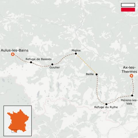 LaRébenne - GR10 - De Aulus-les-Bains à Ax-les-Thermes - Partie 6