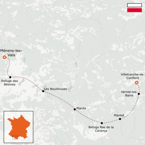 LaRébenne - GR10 - De Merens-les-Vals à Vernet-les-Bains - Partie 7