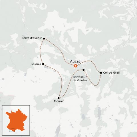 LaRébenne - Randonnée Retrouvance Pyrénées Vicdessos