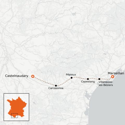 LaRébenne - Le Canal du Midi en vélo - Groupe Jeunes