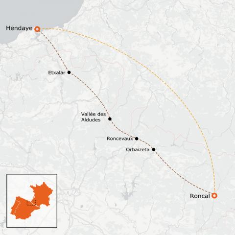 LaRébenne - VTT - Traversée du Pays Basque