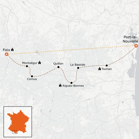 LaRébenne - VTT - L'intégrale du Sentier Cathare (Niveau 2)