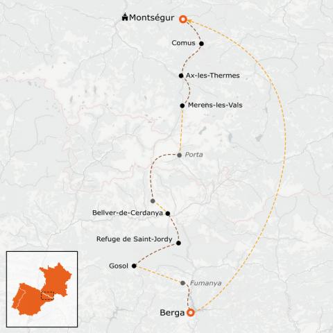 LaRébenne - Randonnée - Chemin des Bonshommes Transfrontalière