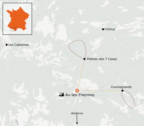 LaRébenne - Raquettes à neige - Week-end raquettes, balnéo et plaisirs gourmands Pyrénées