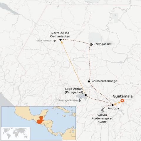 LaRébenne - VTT - Voyage au Guatemala