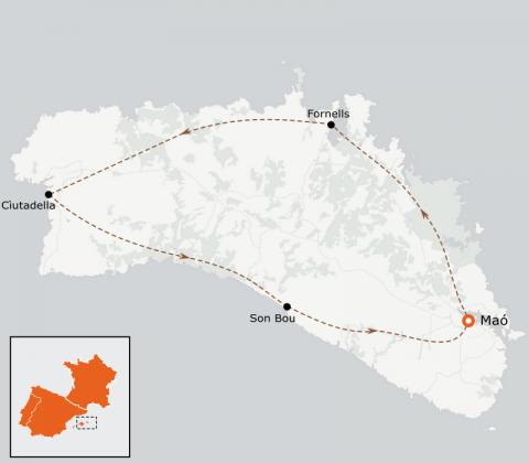 LaRébenne - VTT - Le Tour de Menorca