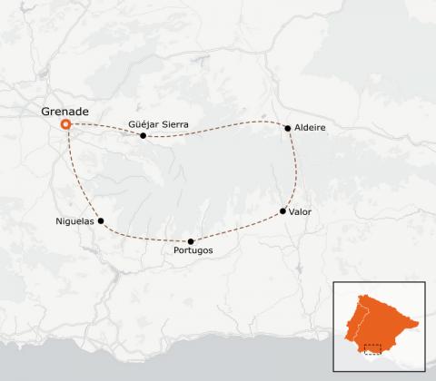 LaRébenne - VTT - Le Tour de la Sierra Nevada