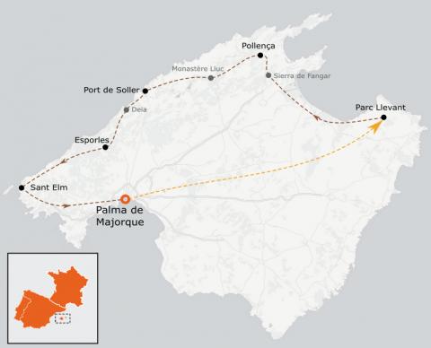 LaRébenne - VTT - La traversée de Majorque