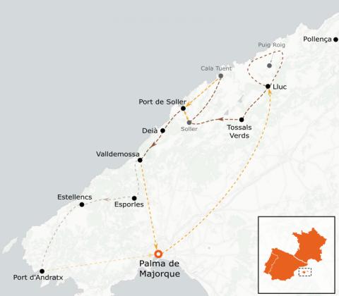 LaRébenne - Randonnée - Les perles de la Serra de Tramuntana
