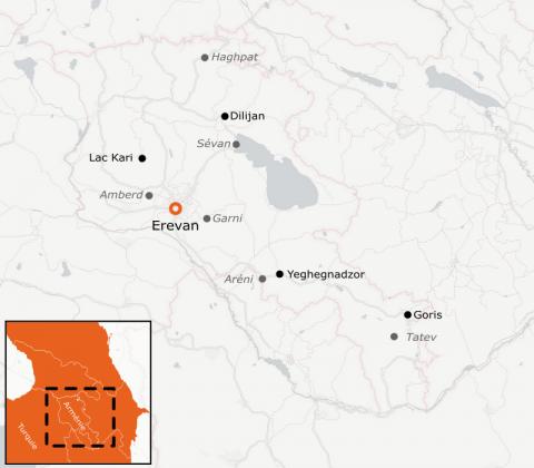LaRébenne - Randonnée - Arménie, Terres et paysages variés