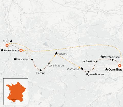 LaRébenne - Randonnée - Sentier Cathare Sélection