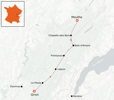 LaRébenne - Ski de fond - Grande Traversée du Jura