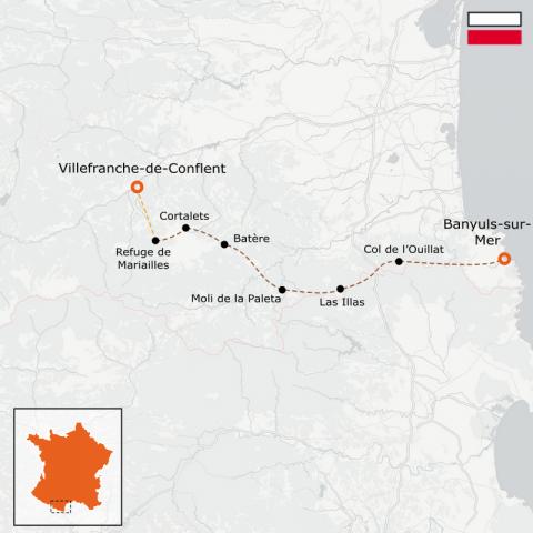 LaRébenne - GR10 - De Vernet-les-Bains À Banyuls-sur-Mer - Partie 8