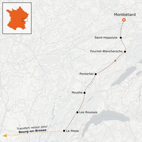 LaRébenne - VTT - La Grande Traversée du Jura