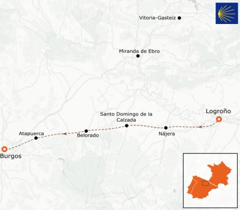 LaRébenne - Randonnée - Chemin de Compostelle - De Logroño à Burgos (étape 8)