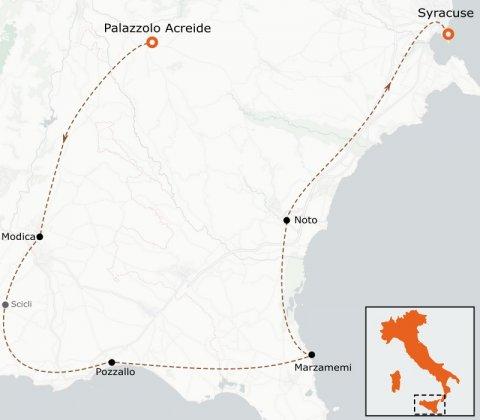 LaRébenne - VTC - Sicile - Tour d'Ibleo