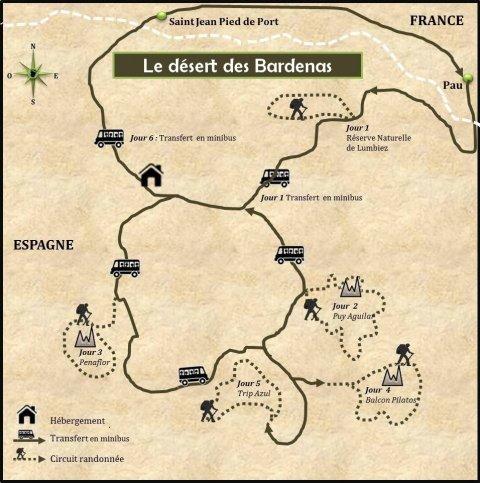 LaRébenne-Randonnée-Espagne-Désert-des-Bardenas