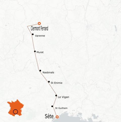 LaRébenne - Vélo de route- Grande Traversée Massif Cental