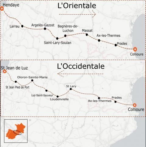 LaRébenne - Vélo de route- Grande Traversée Pyrénées