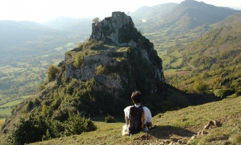 LaRébenne - Randonnée - Sentier Cathare - Château de Roquefixade