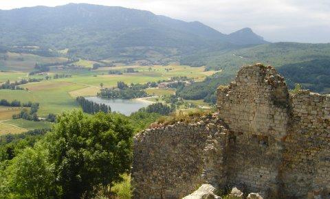 LaRébenne - Randonnée - Sentier Cathare - Château de Puivert