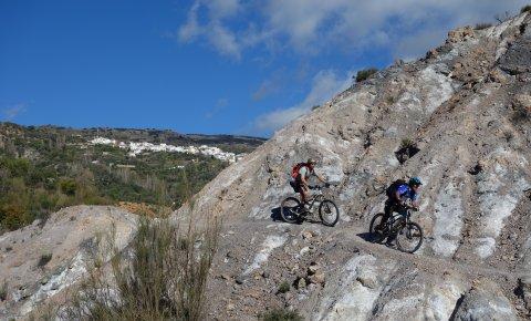 LaRébenne - Tour de la Sierra Nevada en VTT