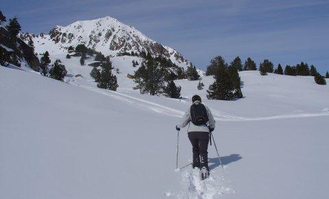 LaRébenne - Raquettes à neige - Pyrénées Ariégeoises Vallée d'Ax