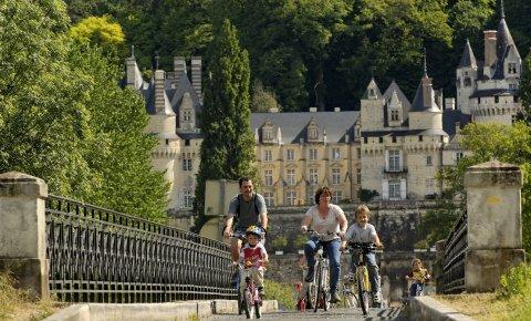 LaRébenne - VTC - la Loire à vélo - De Tours à Saumur (Rigny-Ussé)