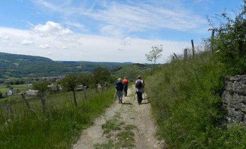 LaRébenne - Saint-Jacques-de-Compostelle - Du Puy-en-Velay à Aumont-Aubrac (Étape 1)
