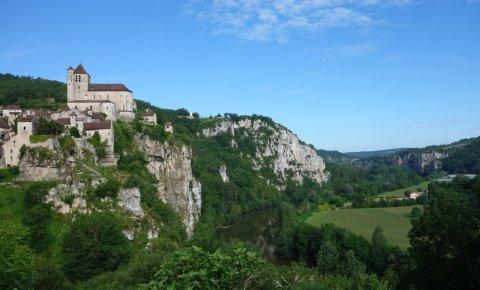 LaRébenne - Saint-Jacques-de-Compostelle - Saint-Cirq-Lapopie