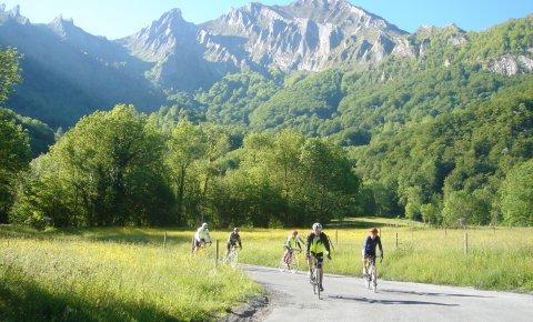 LaRébenne-Pyrénées-Traversée en vélo